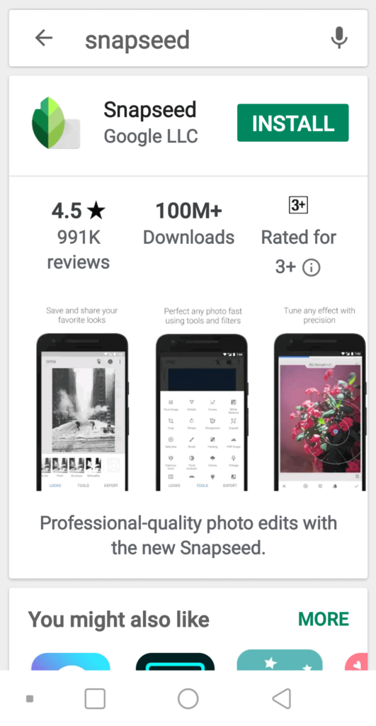 Snapseed Apk for Android Free Download - Snapseed PC Online